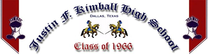 Welcome to the Justin F. Kimball High School Class of 1966 35th Reunion web site