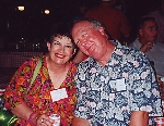 Carol Ann and Steve Adams at the Pavilion Party, July 6, 2001